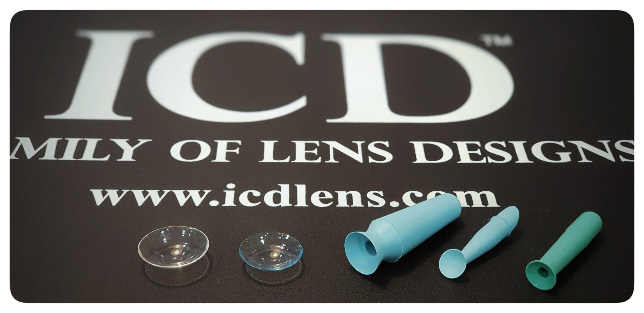 43397ba0dd Lentes de contacto especiales para el pacientes con queratocono, lentes  esclerales