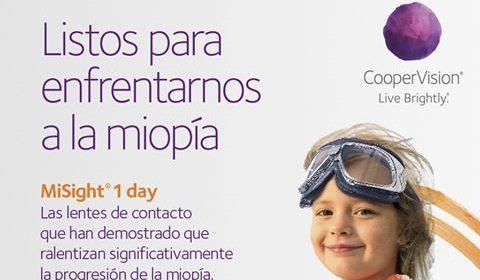 Lentillas Mysight para control de miopía