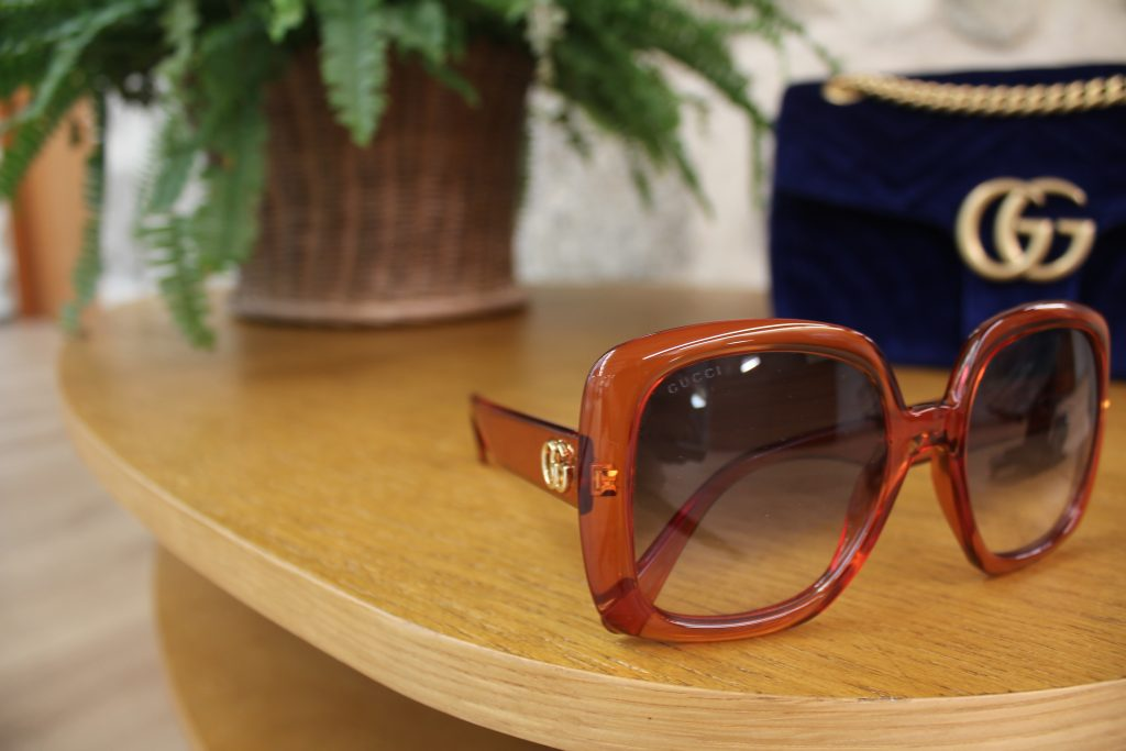 Gafa de sol Gucci estilo Squared
